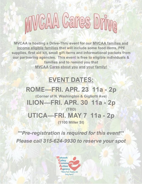 MVCAA CARES Drive Thru
