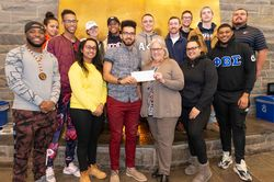 Utica College Students Raise Funds to Help Families