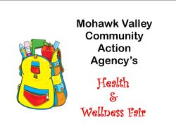 MVCAA's Health & Wellness Fair
